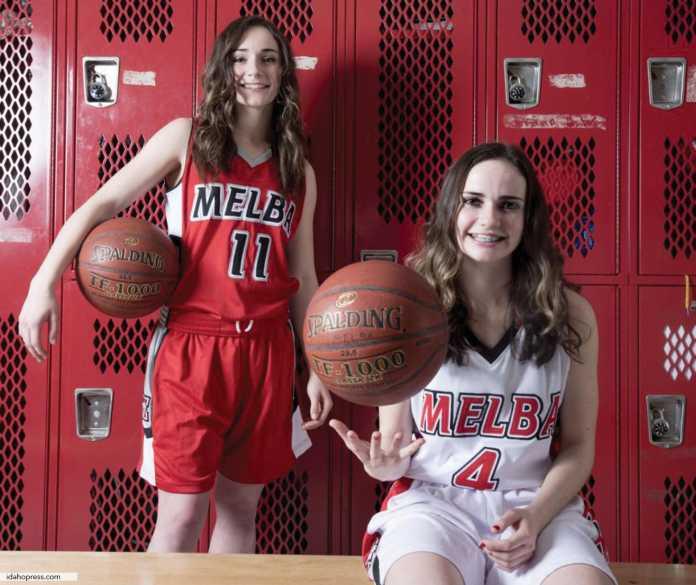 Melba Girls Basketball Team